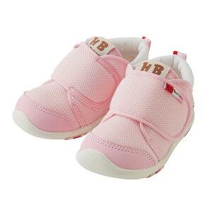 d6e32c0c76a82  箱付 ミキハウス ホットビスケッツ mikihouse セカンドベビーシューズ ピンク  13~15cm  出産祝 ギフト ベビー靴 子供靴 女の子  MIKIHOUSE 出産祝い.