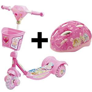 【エムアンドエム】スクータードキドキ!プリキュアのキックボード!にヘルメットセットM&M ち...