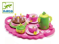 「DJECO/ジェコ」フランスの老舗玩具ブランド♪【DJECO ジェコ】バースデイ ティーパーティ キ...