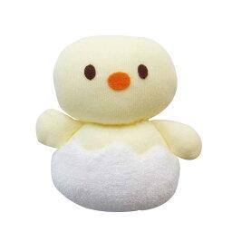 ベビーラトル たまヒヨ 赤ちゃんのおもちゃ 鈴入り にぎにぎ ガラガラ 新生児用品