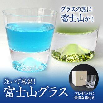 """樂天綜合性排名1位獲得!田島玻璃的富士山玻璃杯""""鎖頭玻璃杯"""""""