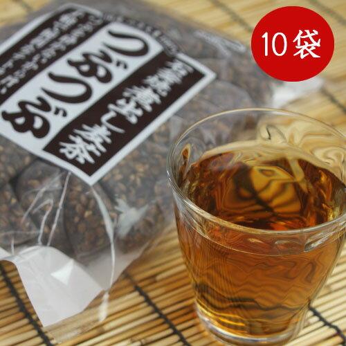 つぶまるの増量版 つぶつぶ麦茶小川産業1ケース(24パック入り×10袋)小川の煮出し麦茶石釜焼き