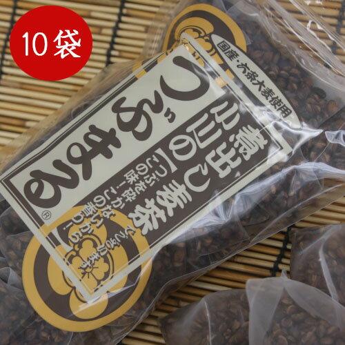 つぶまる麦茶小川産業1ケース(20パック入り×10袋)小川の煮出し麦茶石釜焼き