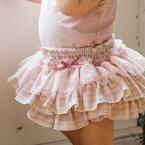 panpantutuパンパンチュチュフリフリボトム/フリルパーティーミルクピンクチェック◆プレゼント・ギフト・出産祝い・お祝い・キッズ・ベビー・赤ちゃんベビー服・子供服・ベビー用・キッズ用・女の子・フリフリ・ブルマ・可愛い◆02P03Sep16