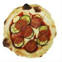 イタリアンサラミと茄子のピッツァ ナポリピッツァ 石窯で焼きあげる香り...