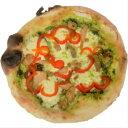 ピッツァジェノベーゼ ナポリピッツァ 石窯で焼きあげる香り豊なピッツァ...