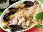 天然 鯛 アクアパッツァ メイン料理 ご自宅で 簡単調理 ご注文合計金額1万円以上で 送料無料 冷凍オードブル ホームパーティに