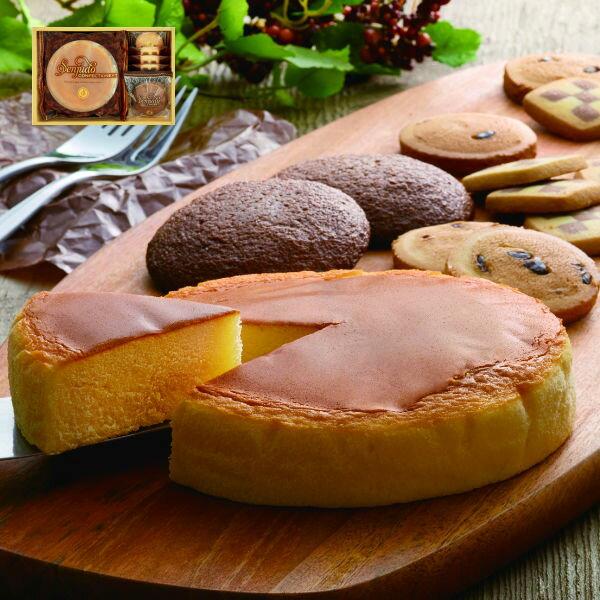 込み    しっとりふわふわチーズケーキ&焼き菓子スイーツセット 出産内祝内祝いお返しお祝い返し返礼  チーズケーキギフトケー