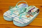 【ネコポス利用!送料無料】コマリヨーアナと雪の女王2ビーチサンダル1022