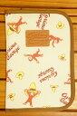 【メール便利用!送料無料】アイプランニング母子手帳ケース(マルチケース)おさるのジョージK-9864
