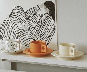 韓国インテリア カフェ コップ カップ ソーサー マグカップグラス コーヒー 紅茶 カフェ風 韓国女子 SNS映え ナチュラル かわいい おしゃれ お部屋作り インテリア 雑貨