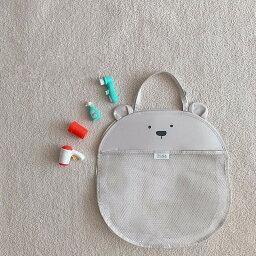 子供のおもちゃ収納 バッグ バスルーム 赤ちゃん入浴 ウォーターネット バッグ 収納 バッグ おもちゃバッグ 編みバッグ こぐま こいぬ うさぎ かわいい 女の子 男の子 おもちゃケース お風呂 入浴