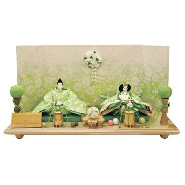 藤匠 後藤由香子作 花てまり 親王飾り 創作雛人形