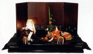 [雛人形・ひな人形]藤匠作 JAZZ (ジャズ) 【親王飾り】【平飾り】【創作雛】