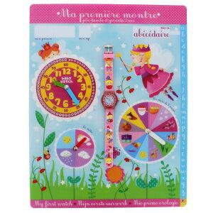 【ベビーウォッチ/babywatch】プリンセス幼児用3Dレリーフベルト腕時計「アベセデール」/ABECEDAIREpetitereine【babywatchベイビーウォッチ子供用子ども用キッズウォッチ時計ギフトパリ】【楽ギフ_包装】