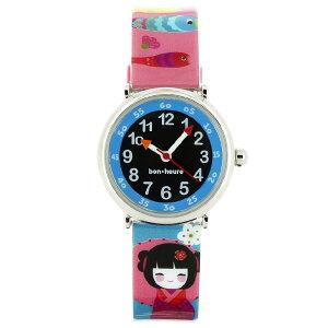 【ベビーウォッチ/babywatch】お人形子ども用プリント柄ベルト腕時計「コフレ」/COFFRETdoll【babywatchベイビーウォッチ子供用子ども用キッズウォッチ時計ギフトパリ】【楽ギフ_包装】