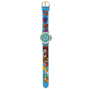 【ベビーウォッチ/babywatch】人魚子ども用3Dレリーフベルト腕時計「ザップ」/ZAPsirene【babywatchベイビーウォッチ子供用子ども用キッズウォッチ時計ギフトパリ】【楽ギフ_包装】
