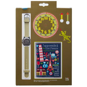 【ベビーウォッチ/babywatch】ジャングル子ども用3Dレリーフベルト腕時計「ザップ」/ZAPjungle【babywatchベイビーウォッチ子供用子ども用キッズウォッチ時計ギフトパリ】【楽ギフ_包装】