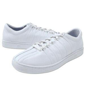 【30%OFF】【K-SWISS】(ケースイス) Classic66 (ホワイト/ホワイト) / クラシック 66 レザー スニーカー メンズ シューズ 靴 白 アメカジ 渋谷 バックドロップ 老舗アメカジショップback drop