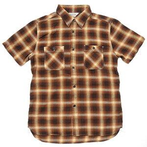 FIVE BROTHER ファイブブラザー ネルシャツ ワークシャツ フランネルシャツ 半袖 長袖 ヘビー ...
