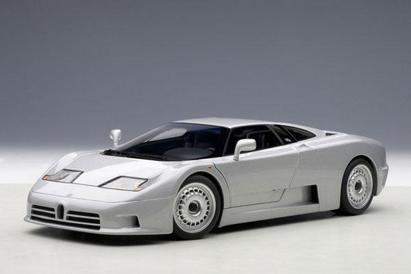 オートアート 1/18 ブガッティ EB110 GT (シルバー) (70979) 通販  プレゼント モデルカー ミニカー 完成品 模型