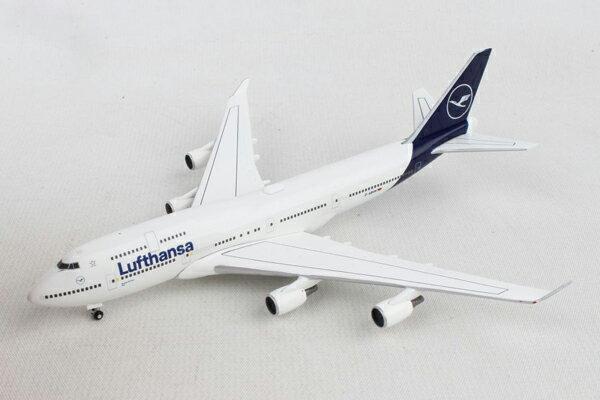 ヘルパウィングス 1/500 ルフトハンザ航空 B747-400 新塗装 D-ABVM