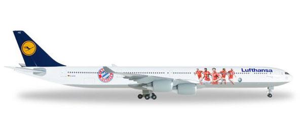 ヘルパウィングス 1/500 ルフトハンザドイツ航空 A340-600 FC BAYERN AUDI SUMMER TOUR 2016 (529747) 通販 プレゼント 飛行機 航空機 完成品 模型