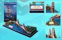 3Dパズル ゴールデンゲートブリッジ (CF078H)