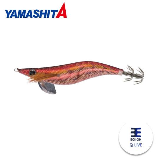 ヤマシタヤマリアエギ王Qライブ3.5号ラメカラーYAMASHITA