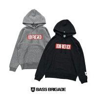 バスブリゲードボックスBRGDロゴフーディ【BXHD101】BASSBRIGADE