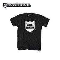 バスブリゲードシールドロゴTシャツBASSBRIGADESLTE01