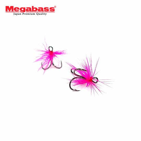 フィッシング, フック・針  10 Megabass TEASER HOOK Flare Feather