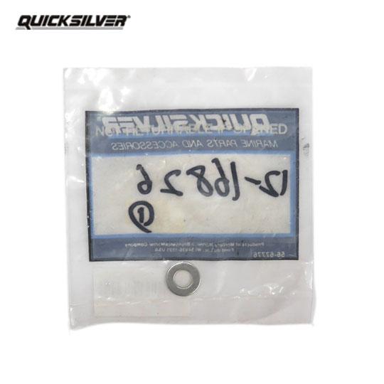 クイックシルバー ワッシャー「ステンレス M6.6x12.5x0.8mm」 【12-16826】 QUICK SILVER
