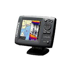 ●LOWRANCE/ローランス Elite-5 5インチ 2周波表示DGPSデジタル魚探(カラー256色)