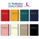 2020 ロルバーン ダイアリー L スケジュール帳 手帳 2019年10月から2020年12月 デルフォニックス Rollbahn monthly planner DELFONICSの商品画像