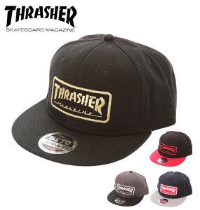 8a0da71c2a7b0 キャップ THRASHER スナップバック OTTO CAP 平ツバ スケーターブランド コットン 帽子 メンズ 14t.