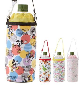 ボトルホルダー クーザ Kooza 通販 ボトルケース ペットボトルホルダー 哺乳瓶 水筒 ペットボトル キャラクター かわいい ディズニー ミッキー ミニー トイストーリー サンリオ ハローキティ マイメロディ キティちゃん マイメロ アルミ 保冷 巾着