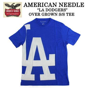 MLB 半袖tシャツ メンズ LA DODGERS OVERGROWN TEE ブルー 青 MLB アパレル アメリカンニードルダンス 衣装 レディース 大きいサイズ HIPHOP b系 ストリート系 ファッション ユニセックス