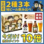 【今だけ早割★楽P10倍】《父の日》百年前の幻のビール & 日本一受賞の人気クラフトビール入り 2種3本飲み比べセット 特別ギフトBOX/メッセージカード付/【送料無料 ギフト プレゼント お酒 詰め合わせ 地ビール 贈り物 おしゃれ 高級 お父さん ありがとう 誕生日】
