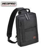 ショルダーバッグ NEOPRO RED ネオプロ No:2-023 薄マチ ボディーバッグ モバイルパット お出掛け 使い易い 薄い メンズ レディース 軽量 通勤 通学 エンドー鞄