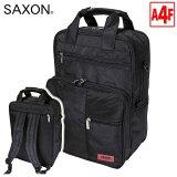 ビジネスバッグ SAXON サクソン No:5174 縦型 3Way ビジネス A4ノートPC 対応 リュック 型 ビジネスバッグ 軽量 撥水 メンズ レディース 激安 ビジネス 通勤 通学 就活
