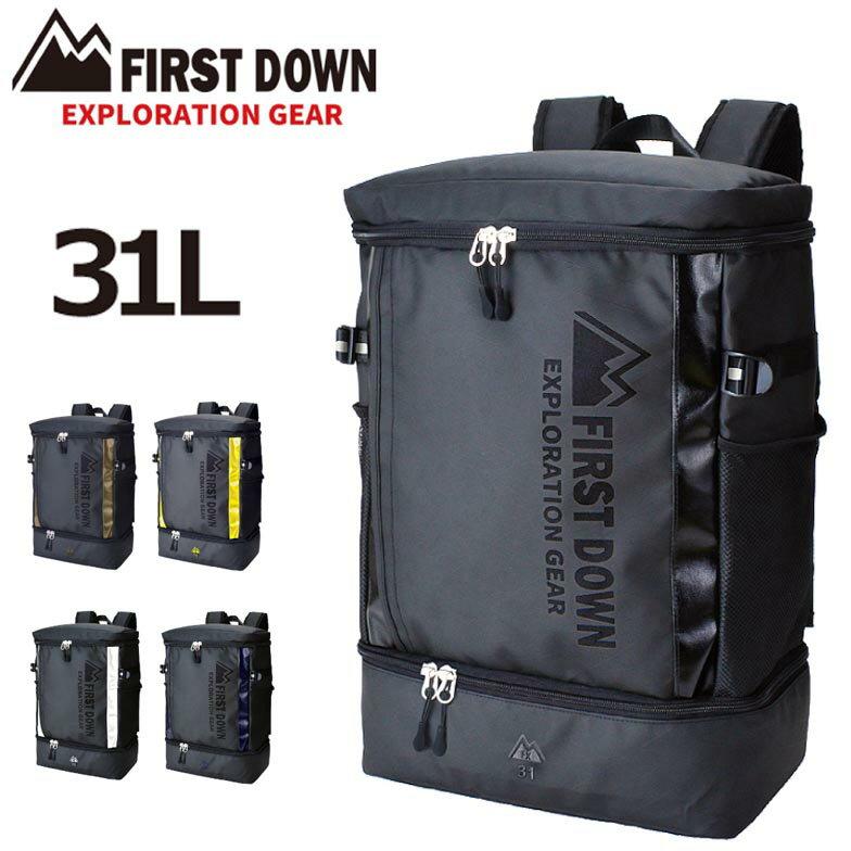男女兼用バッグ, バックパック・リュック D- FIRST DOWN No:33025 31L A4 B5 PC