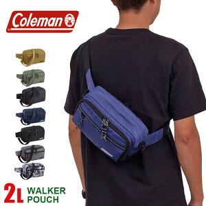 コールマン ウエストバッグ ウエストポーチ 2L coleman ウォーカーポーチ ショルダーバッグ メンズ レディース キッズ CBW6011