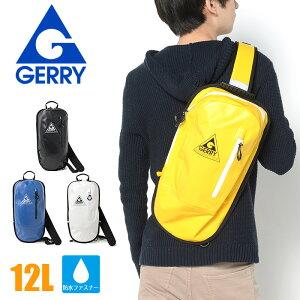 GERRY ジェリー ボディバッグ 防水バッグ ワンショルダー GE-8005 レディース メンズ 通学 スポーツ 軽量 おしゃれ 旅行 かわいい