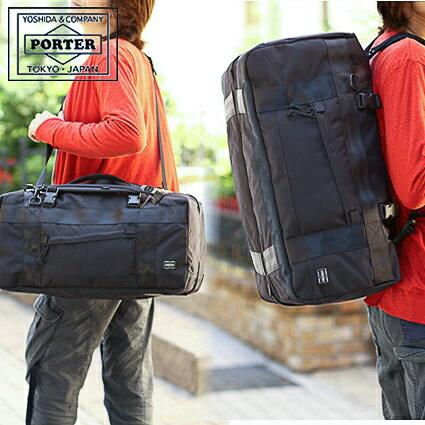 ポーター 吉田カバン porter ブースパック M 大容量 3WAY BOOTH PACK ポーター ボストンバッグ リュック ダッフルバッグ 853-07995 WS