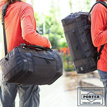 吉田カバン ポーター porter ブースパック S 3WAY BOOTH PACK ボストンバッグ リュック ダッフルバッグ ポーター 853-07996 WS