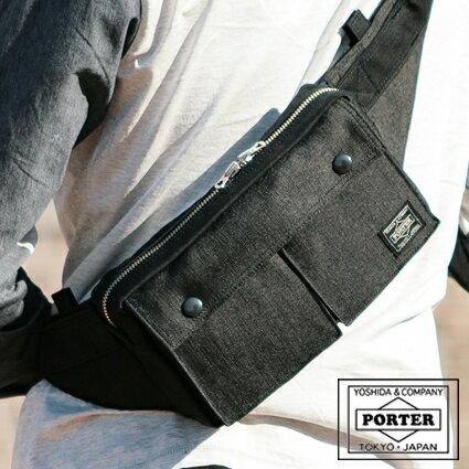 メンズバッグ, ボディバッグ・ウエストポーチ 517()12:00W porter SMOKY 592-07507 WS