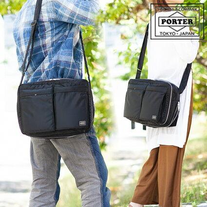 メンズバッグ, ショルダーバッグ・メッセンジャーバッグ  porter L TANKER 622-67137 WS