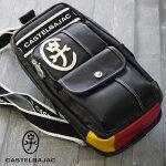 カステルバジャックバッグドミネ024911CASTELBAJACボディバッグメンズショルダーバッグ