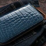 【池田工芸】日本最大のクロコダイル専門店が贈る Crocodile Long Wallet (クロコダイル ロングウォレット) カラー【次回出荷日6月20日頃】
